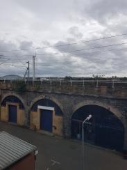 Maclay Rm 4 window view TRAIN AT EYE LEVEL