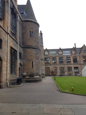 Inside the right quad