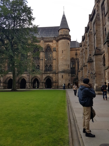 Queue for BRP collection beginning to form in corner of right quad