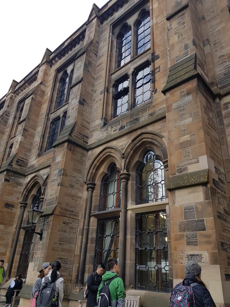 University of Glasgow interior right quad