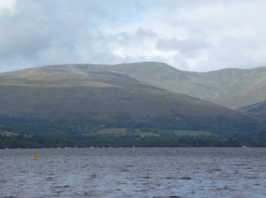 The National Park surrounding Loch Lomond